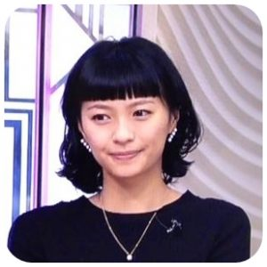 榮倉奈々の前髪ぱっつんな髪型の画像