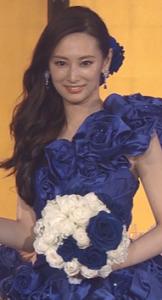 北川景子の結婚式の時のかわいい髪型【画像】