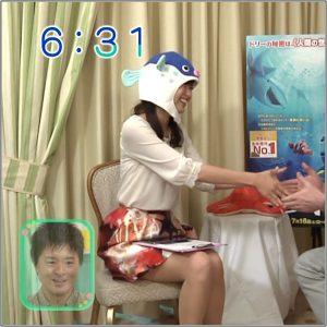 斎藤真美の美脚な太ももヤバイ!画像