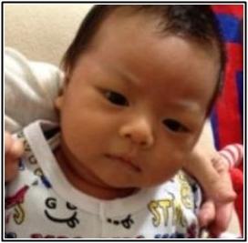 松嶋尚美の子供の顔がダウン症だって?そんな事ないでしょう、はい画像。