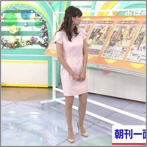 斎藤真美アナの美脚な太もも画像2
