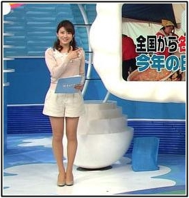 郡司恭子アナはかわいいしカップも凄いし美脚!画像