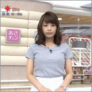 宇垣美里アナのカップ画像!